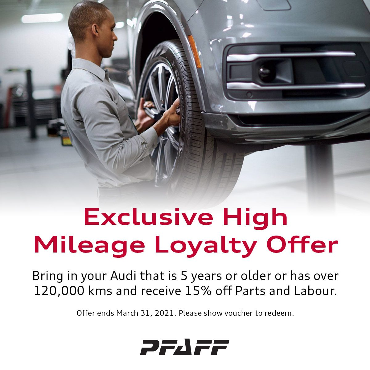 Exclusive High Mileage Loyalty Offer